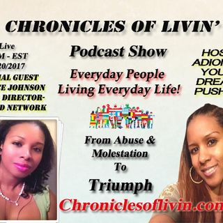 "Ep 5- From Abuse and Molestation To Triumph - Guest Patrice Johnson/ADionne ""Your Dream Pusher"""