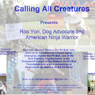 Calling All Creatures Welcomes Roo Yori