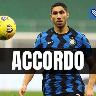 Inter, slitta la rata di Hakimi: accordo col Real Madrid