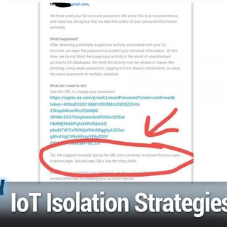 SN 783: IoT Isolation Strategies - Isolate Your IoT Devices, Threema Goes Open-Source