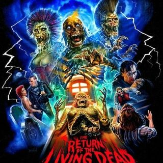 Season 4:  Episode 173 - MAN VS NATURE:  Night of the Living Dead (1968)/ Return of the Living Dead (1985)