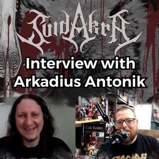 Arkadius Antonik from SuidAkrA talks 'Wolfbite'