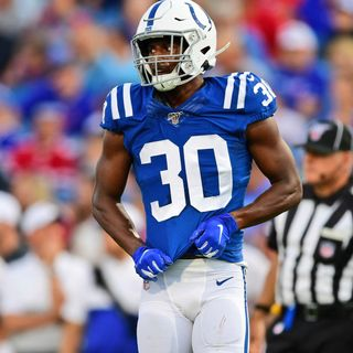 SNBS - Colts safety George Odum and Darius Leonard are adjusting their goals