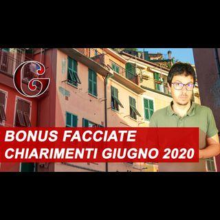 CHIARIMENTI BONUS FACCIATE 2020: balconi parapetti ringhiere tetto - quali lavori e quale bonifico