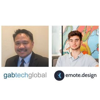 LAWGITIMATE Christopher Yap with Gabtech Global and Adam French with emote.design