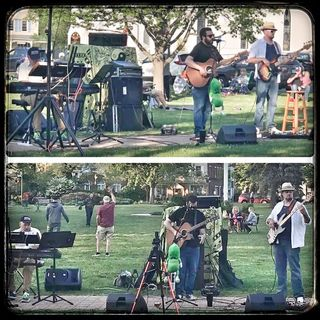 Get Up, Stand Up John Spignesi Band Live at Branford Town Green on 2021-05-20