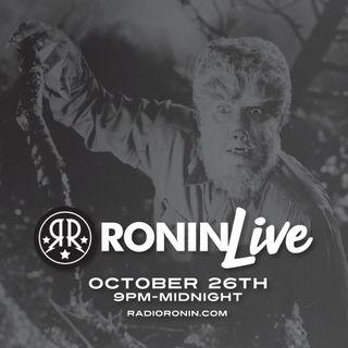 Ronin LIVE Halloween Show 2019!!!