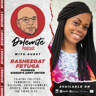 Episode 1: Restorative Justice with Rasheedat Fetuga, Founder of Gideon's Army United