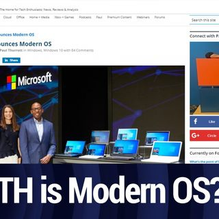 What The Heck is Modern OS? | TWiT Bits