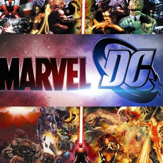 """Legends of the Panel Podcast: Top 3 """"DC characters VS. Marvel Characters"""""""