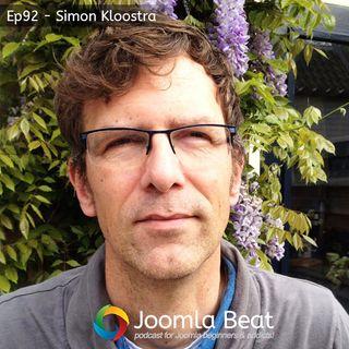 Ep92 - Simon Kloostra & Joomla SEO