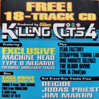 Free With This Months Issue 26 - George from Flawless selects Metal Hammer Killing Cuts 4