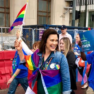 Volunteering for Gretchen Whitmer