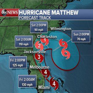Hurricane Matthew LIVE Update - Saint Cloud, Florida