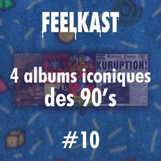 10: 4 albums iconiques des années 90's