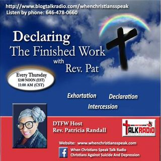 """FORGIVEN"" on Declaring The Finished Work With Rev. Pat Randall (Replay)"