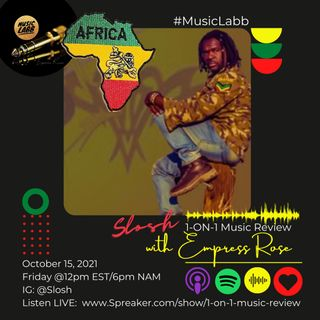 Namibia's Reggae Artist - Slosh interviews