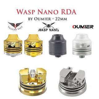 WASP NANO  RDA (Prueba/Opinión) Excelente calidad/precio (VAPEO)