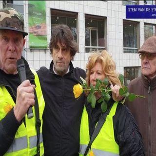'Staats en Postcode Loterij-Maffia' & BN-Hoeren Ontmaskerd, Meer,Meer gele Hesjes in Amsterdam.