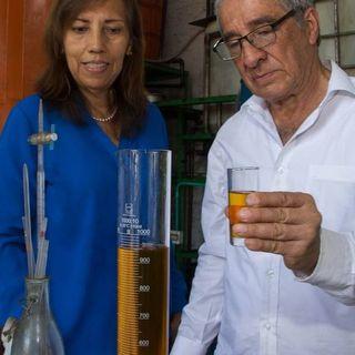 NUESTRO OXÍGENO Reciclaje de aceite vegetal - María del Carmen Cabrera