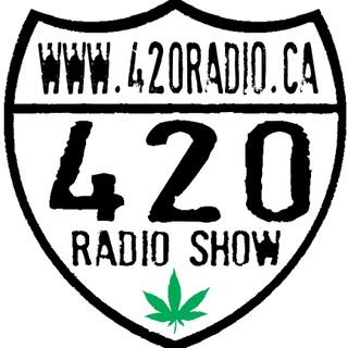 The 420 Radio Show with Guest Jeffery Peterson, The 420 Comic LIVE on 420radio.ca On-Air