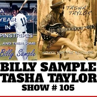 STEVE LUDWIG'S CLASSIC POP CULTURE 105 ~ BILLY SAMPLE   TASHA TAYLOR~2