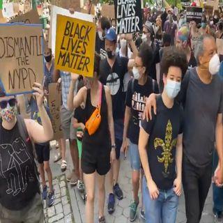 Continúan las manifestaciones en EUA por caso Floyd