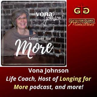 Vona Johnson Longing for More Podcast
