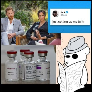 Tweet all'asta, Harry e Meghan e vaccini barzotti