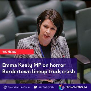 Emma Kealy MP on Bordertown truck horror crash