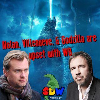 Nolan, Villenueve, & Godzilla are upset with WB