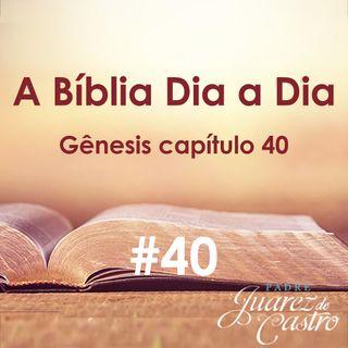 Curso Bíblico 40 - Gênesis Capítulo 40 - José explica os sonhos - Padre Juarez de Castro