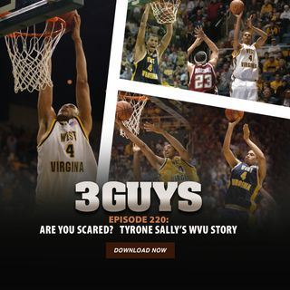 Are you scared? A visit with Tyrone Sally