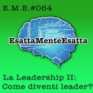 P.64: La leadership II: Come diventi leader?