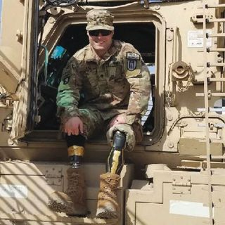 "Justin ""JP"" Lane - U.S. Army Purple Heart Recipient"