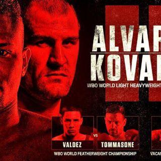 Review Of The E.Alvarez-SergeyKovalev WBO Light Heavyweight Titlefight Plus 3other World Titlefight's!!
