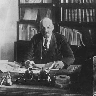 Lenin, russ. Revolutionär (Geburtstag 22.4.1870)