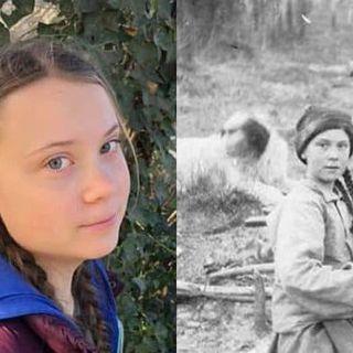 #bologna Greta Thunberg viaggiatrice del tempo?