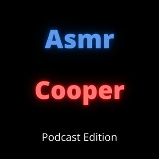 ASMR Cooper - Crinkling, Shaking, and Tapping Noises - Some Talking