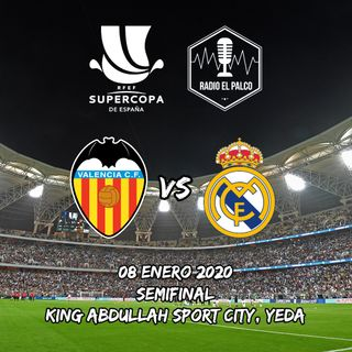 Valencia vs Real Madrid en VIVO