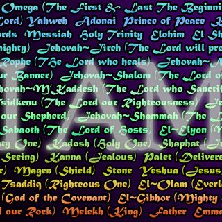 MISSION: POSSIBLE! Names of God