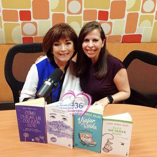 Gaby Pérez Islas te brinda herramientas para solucionar tus problemas y mantener una actitud positiva.