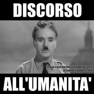 Discorso all'umanità del grande dittatore