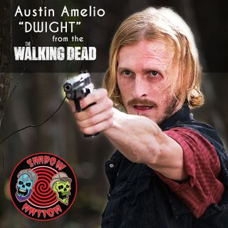 Ditching the Saviors with Dwight (Austin Amelio) from the Walking Dead