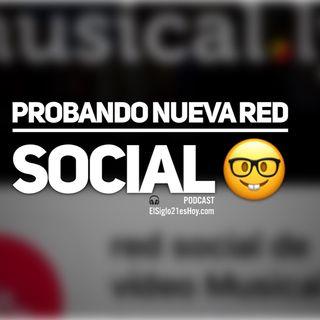 Música y vídeo selfies en la red social