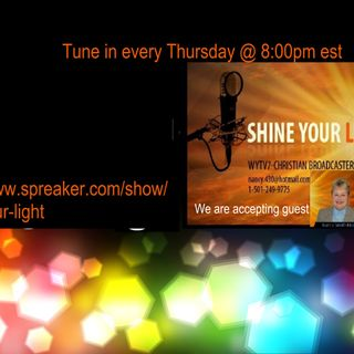Shine Your Light #47 Stop Existing and Start Living Life to the Fullest