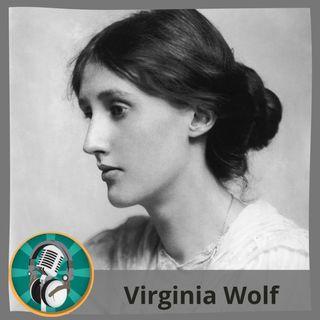 Mar Angélica Montero con Virginia Woolf