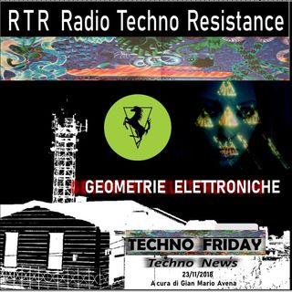 GEOMETRIE  ELETTRONICHE - TECHNO FRIDAY - RTR Radio Techno Resistance - Techno News