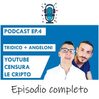 Youtube censura i canali di Criptovalute - Strike a Tiziano Tridico ft. Angeloni - Ep4 Season2020
