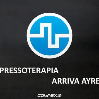 Pressoterapia: arriva Compex AYRE
